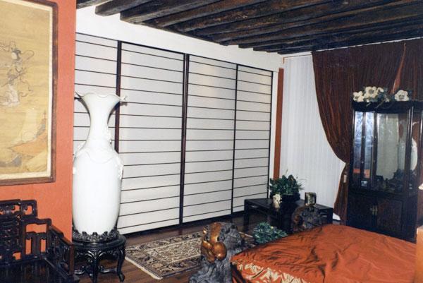 panneaux coulissants stores standards et sur mesure bier. Black Bedroom Furniture Sets. Home Design Ideas