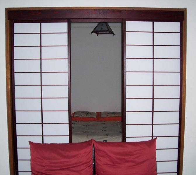 cloisons japonaises coulissantes. Black Bedroom Furniture Sets. Home Design Ideas